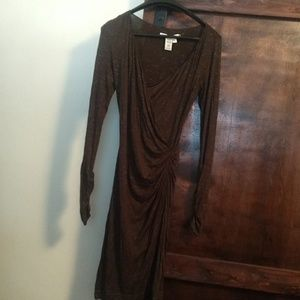 Max Studio brown dress size S
